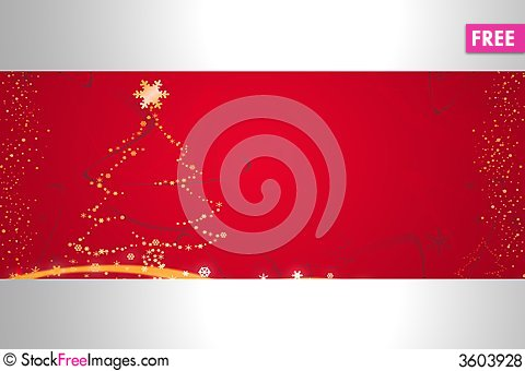 Free Red Christmas Illustration Royalty Free Stock Photos - 3603928
