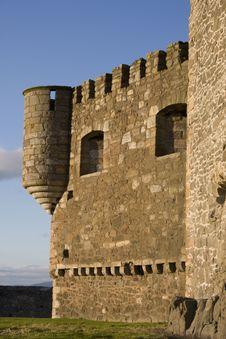 Old Castle In Scotland Stock Photo