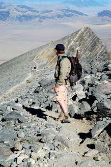 Free Climbing Rocky Ridge Stock Images - 3600744