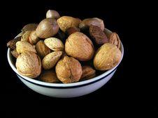 Mixed Nuts 1 Royalty Free Stock Image