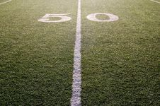 Free Fifty Yard Line Royalty Free Stock Image - 3601626