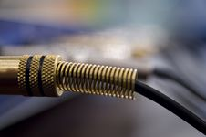 Free Audio Plugs - Jacks Stock Photo - 3602440