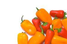 Free Fresh Sweet Peppers Royalty Free Stock Image - 3602846