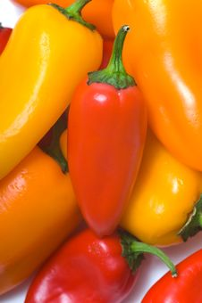 Free Fresh Sweet Peppers Stock Photo - 3602850