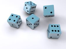 Free Dice In Motion Stock Photo - 3603340