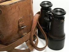 Free Old Binoculars Royalty Free Stock Image - 3603946