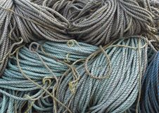 Free Coiled Rope Background Royalty Free Stock Photos - 3604638