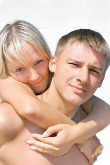 Free Young Couple Portrait Royalty Free Stock Images - 3604779