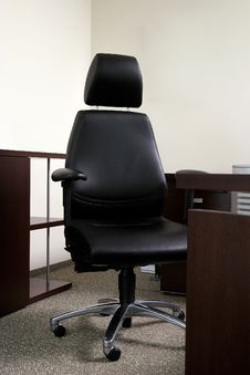 Seat For Chief Stock Image