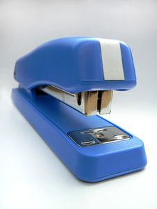 Free Blue Stapler Royalty Free Stock Photo - 3607595