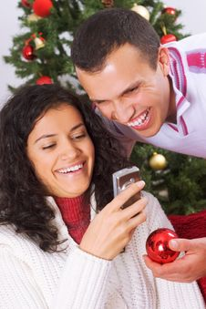 Free Christmas Message Royalty Free Stock Images - 3608849