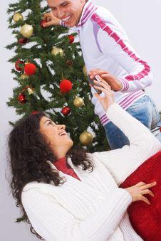 Free Christmas Message Stock Photo - 3608880