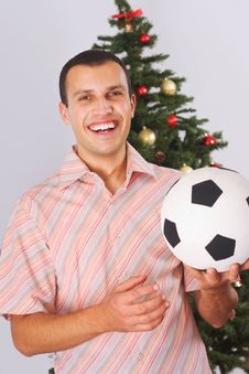 Free Football For Christmas Royalty Free Stock Images - 3609119