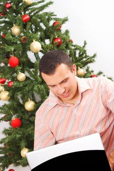 Free Working For Christmas Royalty Free Stock Images - 3609269