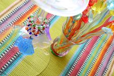 Free Martini Glass And Cocktail Sticks Royalty Free Stock Photo - 3609295