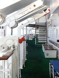 Free On Board Of An Cruse Ship. Stock Image - 3609961