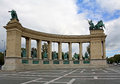 Free Heroes Square Monument Royalty Free Stock Photography - 36009727
