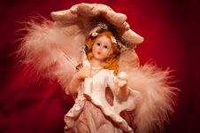 Free Angel Figurine Stock Image - 36001521