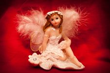 Free Angel Figurine Royalty Free Stock Photo - 36001565