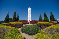 Free Big Thermometer Stock Image - 36002851