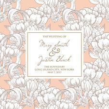 Free Wedding Card Stock Photography - 36005982