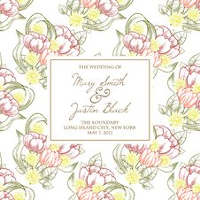 Free Wedding Card Stock Images - 36006014