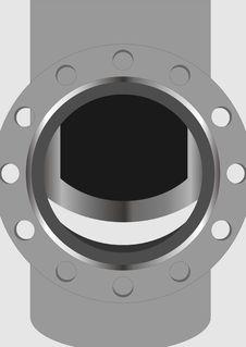 Free Semi-open Valves. Stock Images - 36007244