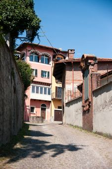Free Pinerolo Streets - Tourists Attraction Stock Photo - 36007460