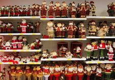 Free Christmas Dolls Stock Photography - 36008472