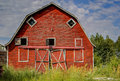 Free Red Barn Royalty Free Stock Photography - 36018917