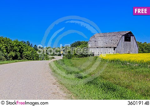 Free Country View Royalty Free Stock Photos - 36019148