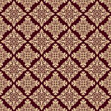 Free Damask Luxury Seamless Pattern Royalty Free Stock Photo - 36010155