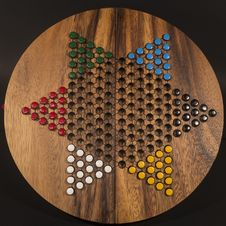 Free Chinese Checkers Royalty Free Stock Photos - 36010998