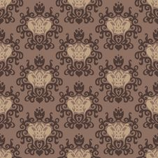 Free Vintage Damask Luxury Seamless Pattern Stock Image - 36011021