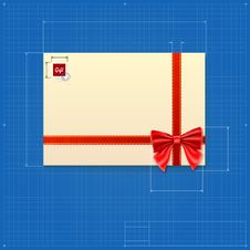 Free Drawing Of A Mail Envelope Royalty Free Stock Images - 36011409