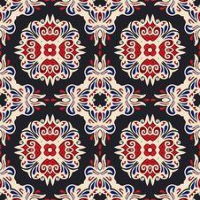 Free Ethnic Geomertric Seamless Pattern Stock Image - 36011441