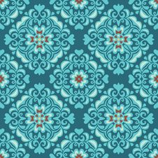 Free Tiles Seamless Ethnic Pattern Royalty Free Stock Image - 36011666