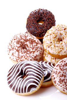 Free Donuts Stuffed Stock Photography - 36012042