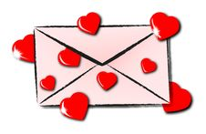 Free Envelope Love Stock Photos - 36013853