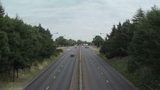 Free U.K. Motorway Timelapse Royalty Free Stock Photo - 36015515