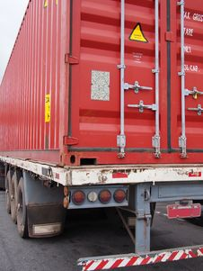 Free Container Truck Stock Images - 36019264
