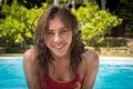 Free Young Girl In The Pool Royalty Free Stock Images - 36020609