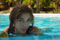Free Young Girl In The Pool Stock Images - 36020614