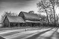 Free Barn In Winter Stock Photos - 36021473