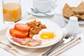 Free Traditional English Breakfast, Coffee And Juice Stock Image - 36027491