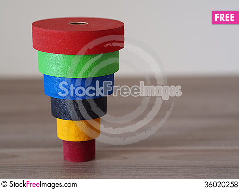 Free Color Tower Royalty Free Stock Photos - 36020258