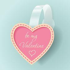 Free Valentines Day Vintage Vector Sticker Stock Photo - 36022940