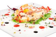 Free Lobster Salad In Japanese Style Royalty Free Stock Image - 36023716