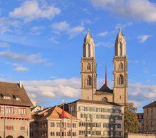 Free Zurich, Great Minster Stock Photos - 36026563