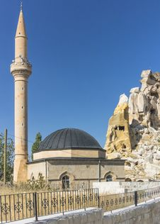 Free Mosque In Cappadocia Royalty Free Stock Images - 36027599
